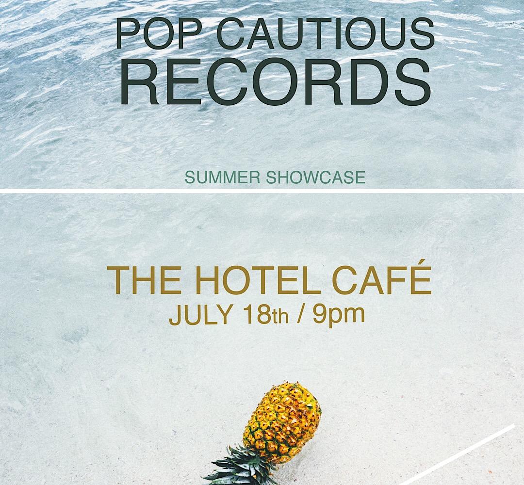 Pop Cautious Presents: Summer Showcase