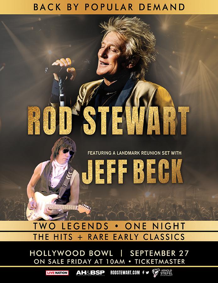 Rod Stewart, Jeff Beck
